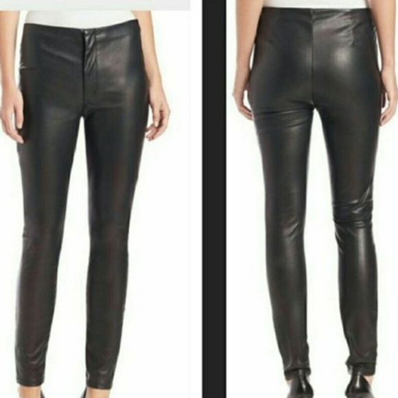 3b74792c34be0 Mother Looker High Waisted Faux Leather Pants. M 5b97f3b73e0caa6cc36745ab